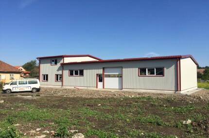 Workshop building for mechanical Processing